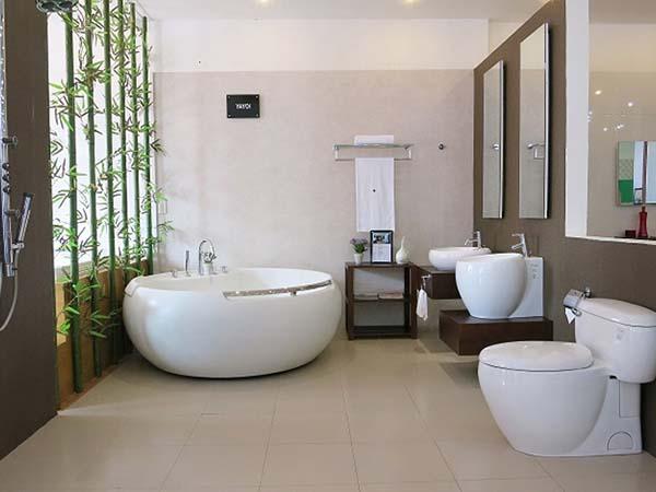 Bộ nội thất phòng tắm gồm những món đồ nào?