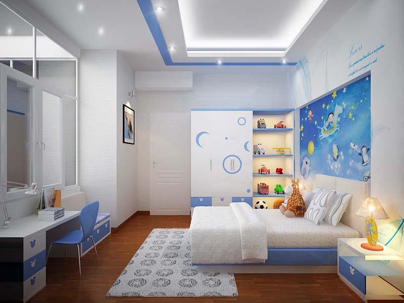 Thiết kế nội thất phòng ngủ trẻ em, ý tưởng và sáng tạo!