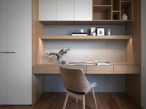 Tủ bàn học Nội thất hiện đại